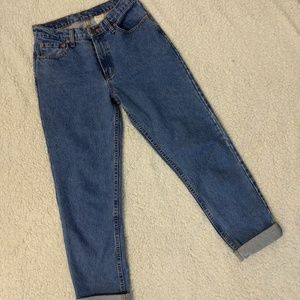 Jordache Tapered High Rise Mom Jeans